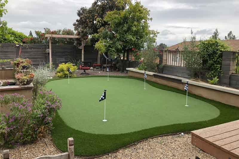 Artificial Putting Greens | Backyard Putting Greens | Ecoworkz